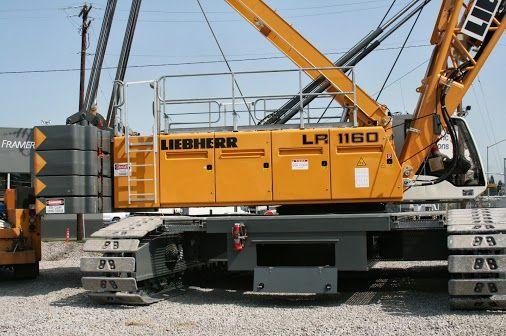 Liebherr Crawler Crane Lr 1160 With Special Handrails Crawler