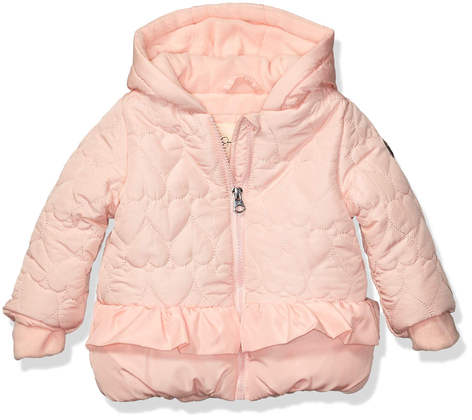 Jessica Simpson Baby Girls Puffer Jacket Ruffle Blush 18m Look Into This Terrific Product This Is An Affiliate Girls Puffer Jacket Puffer Jackets Jackets [ 1739 x 1952 Pixel ]