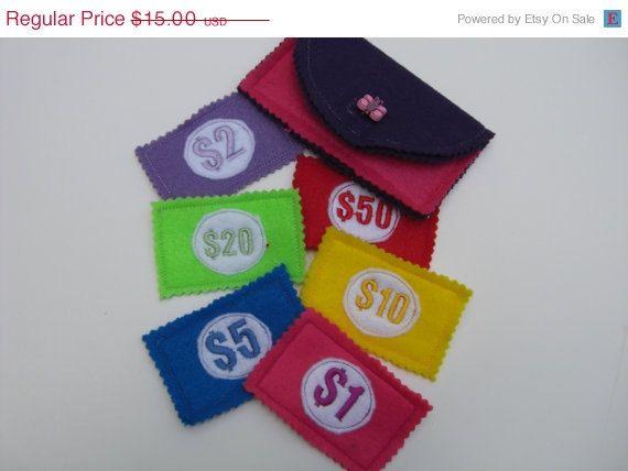 how to make a felt wallet