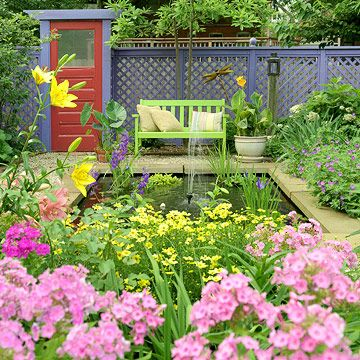 New Home Interior Design: Master the Art of Using Color in the Garden