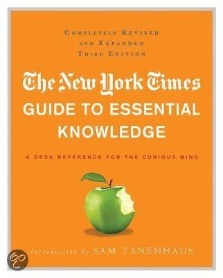 Guide to Essential Knowledge, The New York Times/ Wil je dit boek in één uur kunnen uitlezen in volle concentratie met meer tekstbegrip? Ik kan je helpen, surf naar http://peterplusquin.be/word-expert-in-drie-dagen-via-de-smartreading-snelleesmethode/ #smartreading #snellezen