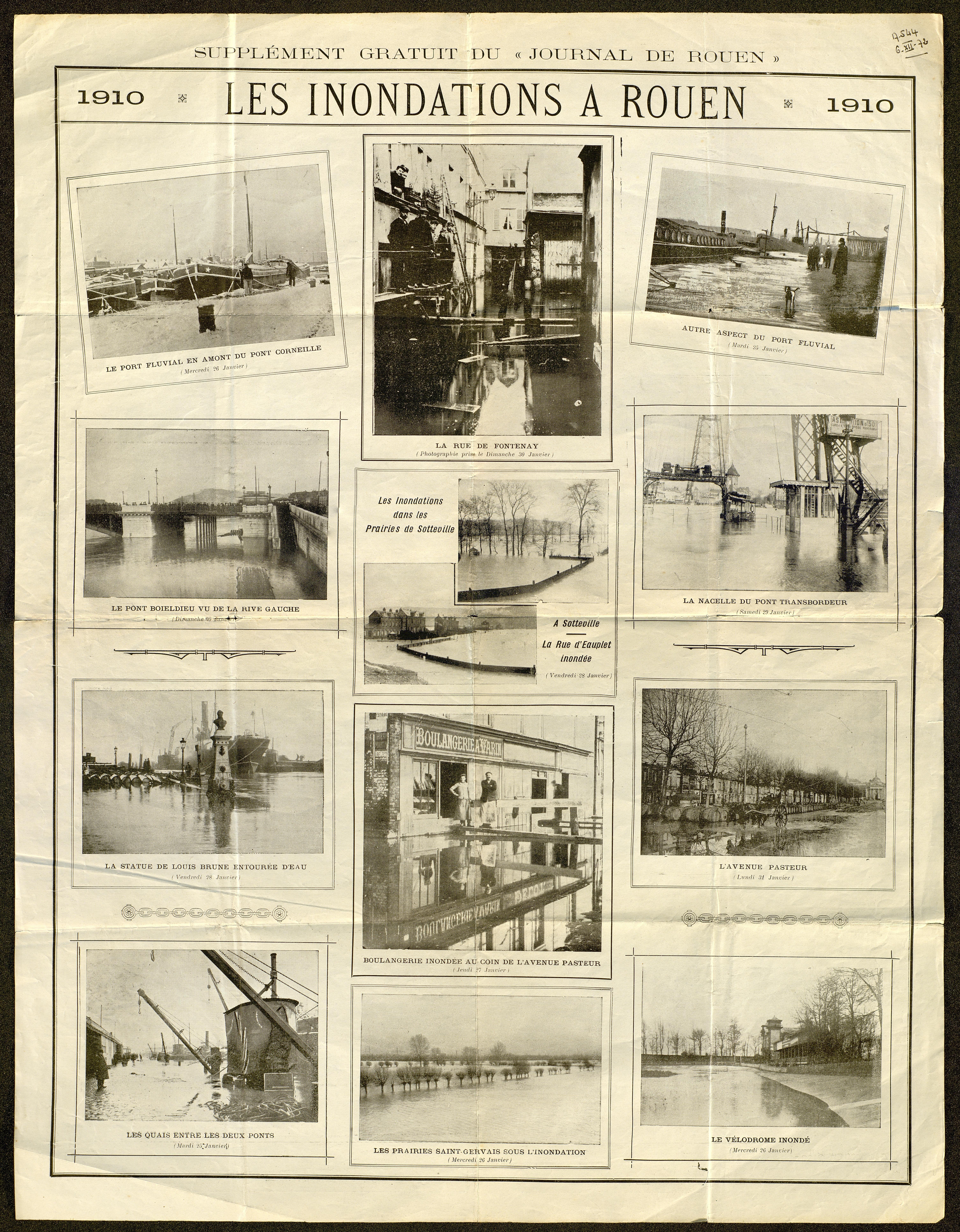 Collection Archives de Seine Maritime Carte du Pays de Caux 1632