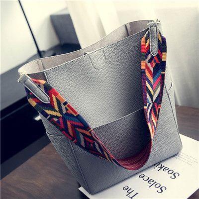 1a01e9678e Luxury Women Bags Designer Brand Famous Shoulder Handbag Female Vintage  Satchel Bag PU Leather Gray Crossbody Shoulder Bags