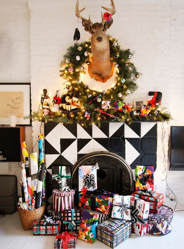 Wow! that fireplace mantle! All the hacks you need for a perfect holiday season