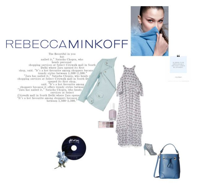 """Rebecca Minkoff's Spring 2016 collection"" by clairejagus ❤ liked on Polyvore featuring Rebecca Minkoff, Sergio Rossi, Furla, women's clothing, women, female, woman, misses, juniors and contestentry"