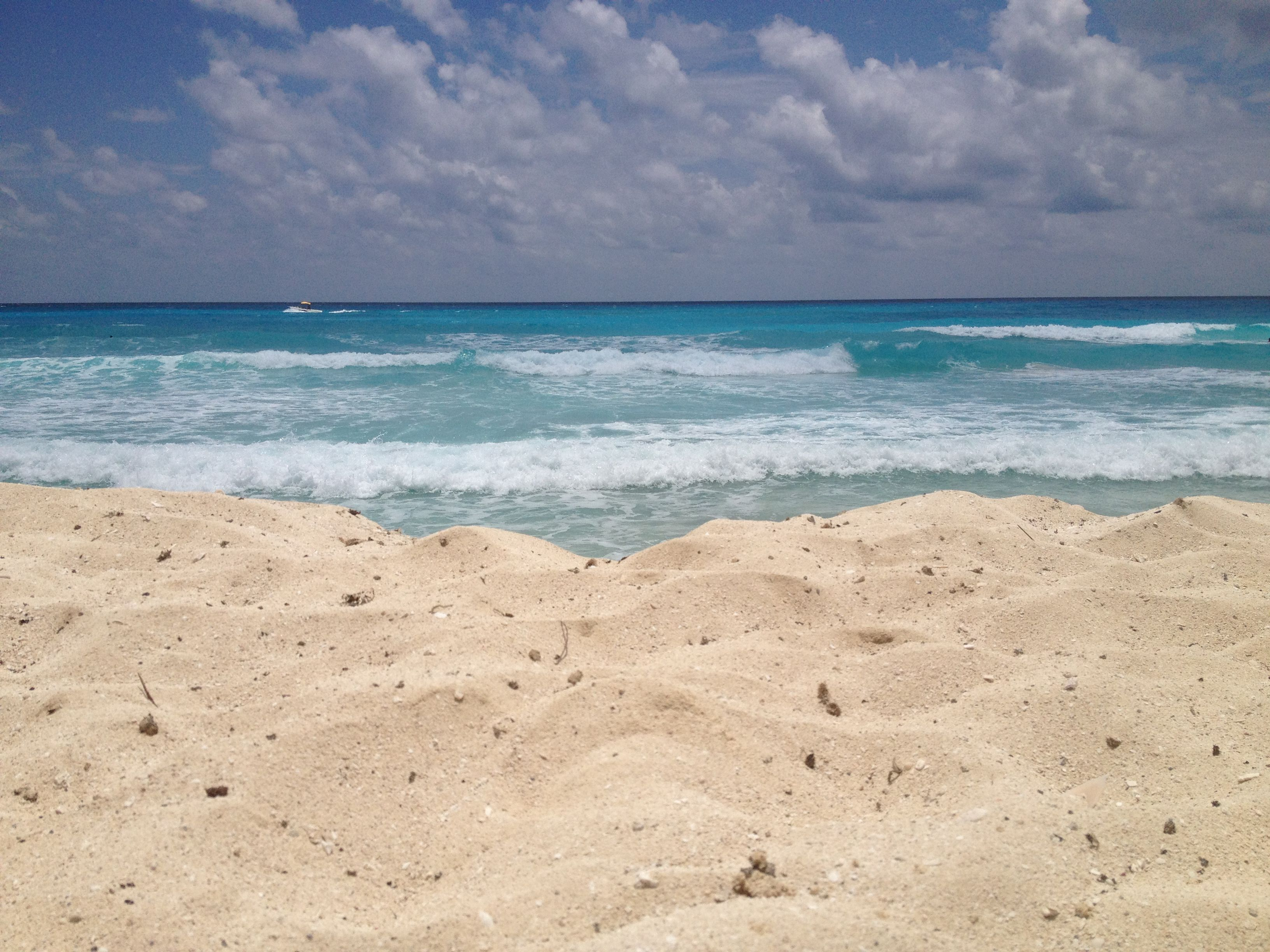 Cancún beautiful beach.