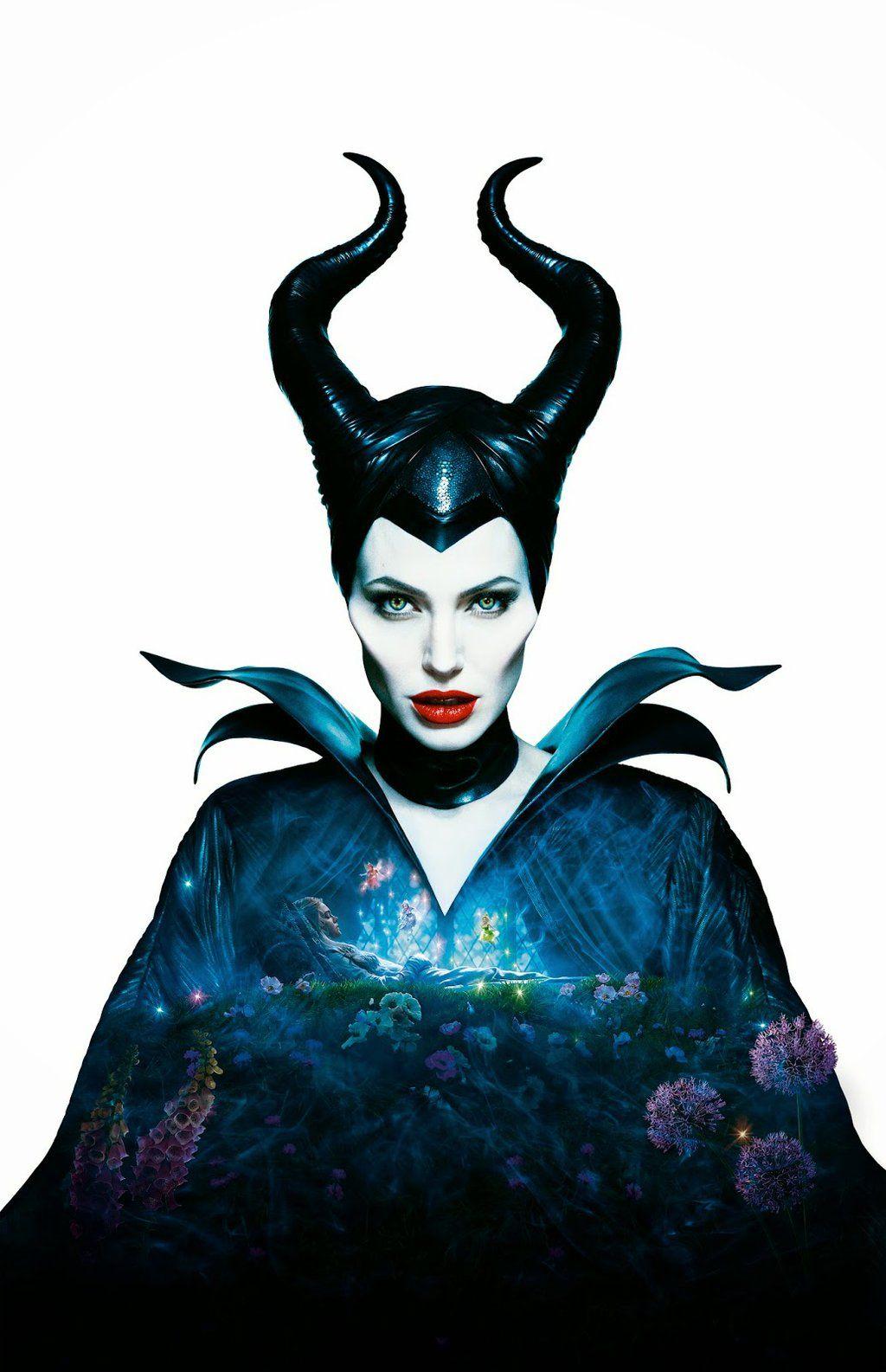 Maleficent Hi Res Textless Poster By Phet Van Burton