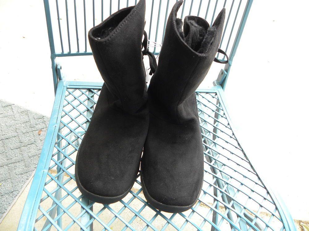 b49e463bc088 NWT JOE BOXER Size 9 Women s Ankle Fashion Edna Boots Black NEW  JoeBoxer   AnkleBoots