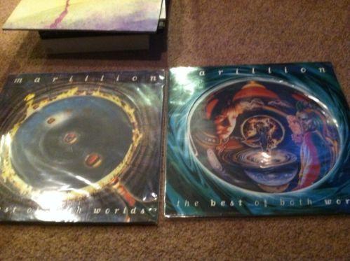 Marillion Best of Both Worlds 4LP Picture Disc Set | eBay