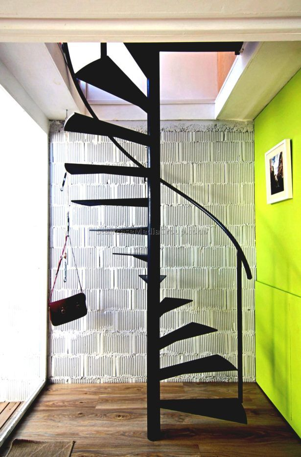 Interior Spiral Staircase Interior Design Ideas Green Balcony Wall | Painting Metal Spiral Staircase | Handrail | Iron | Stair Treads | Steel | Staircase Kit