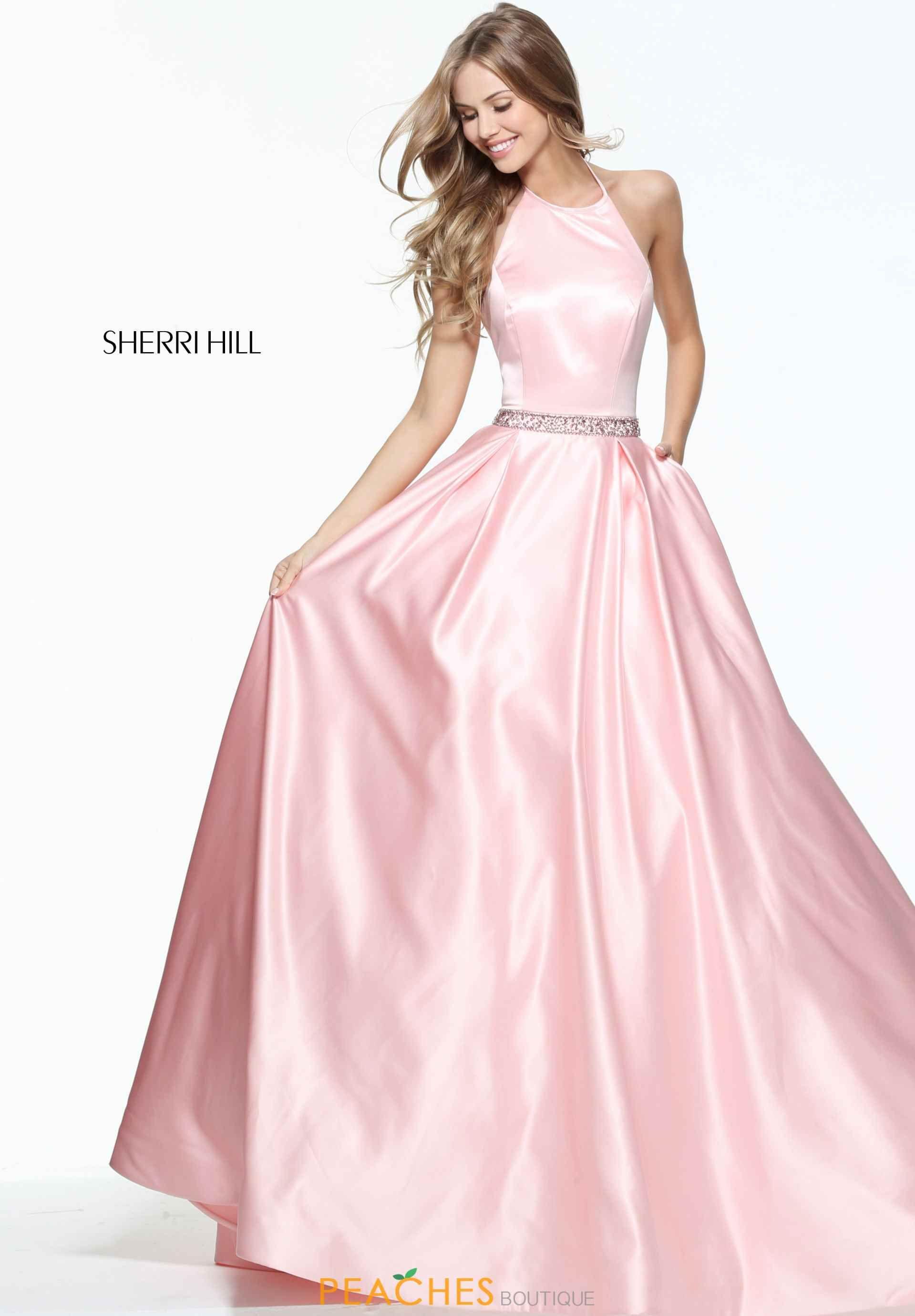 Sherri Hill High Neckline A Line Dress 51036   Prom 2017   Pinterest ...