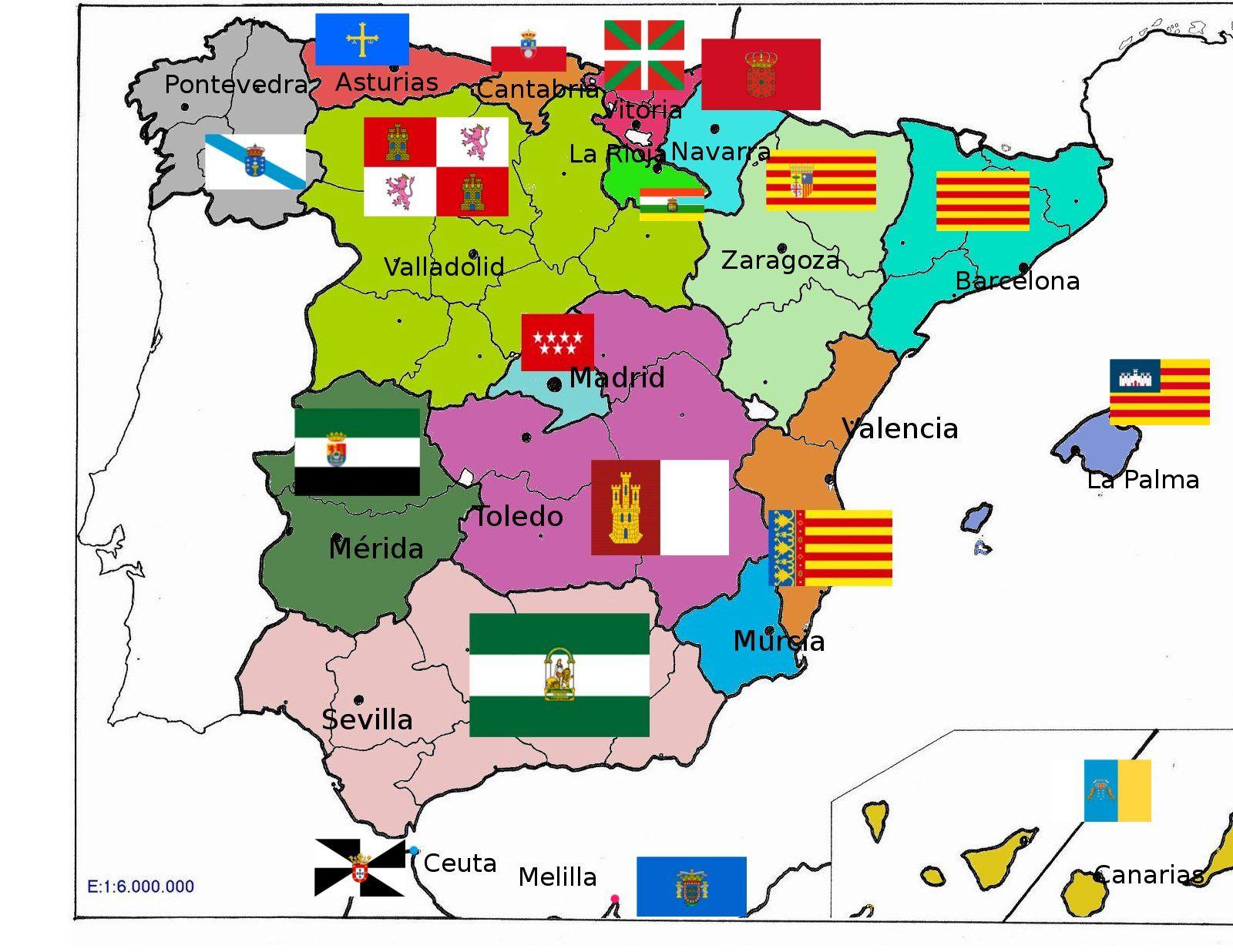 mapa politico españa - Buscar con Google