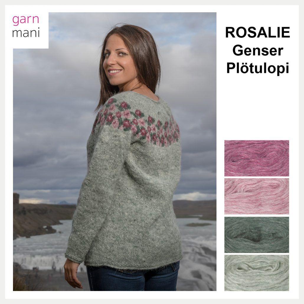 ELINA genser Modell 1 Garnmani.no Spesialist på
