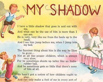 my shadow poem
