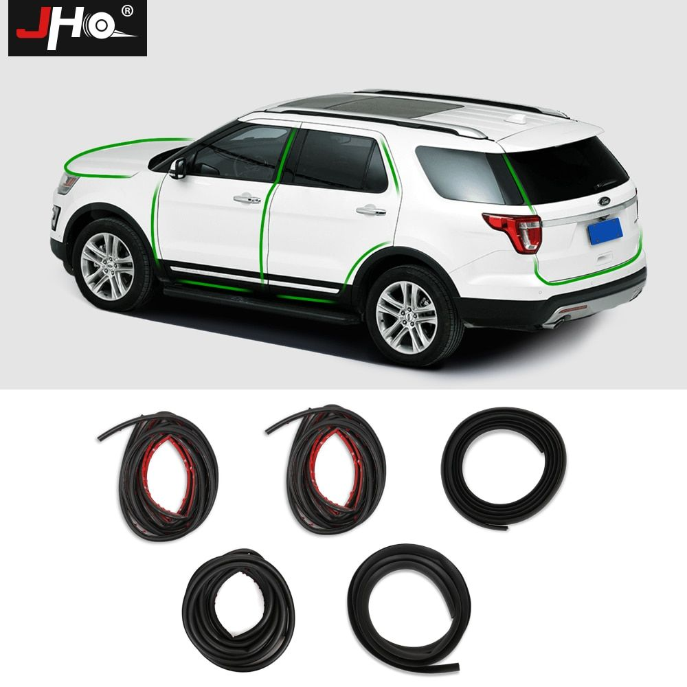 Jho Whole Car Soundproof Rubber Insulation Sealing Strip Hood