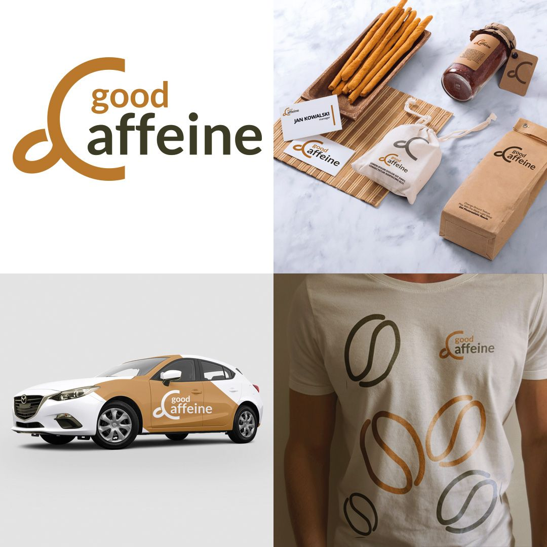 Good Caffeine - my logo project www.goodcaffeine.pl #coffee #logo ...