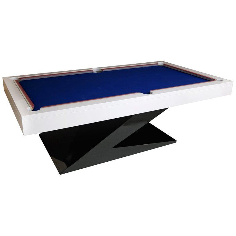 Modern Design Billiard Snooker Pool Ping Pong Dining Table In
