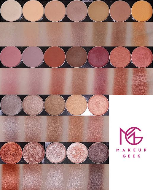 Makeup Geek Makeup Geek Swatches Makeup Geek Eyeshadow Makeup Geek Eyeshadow Swatches