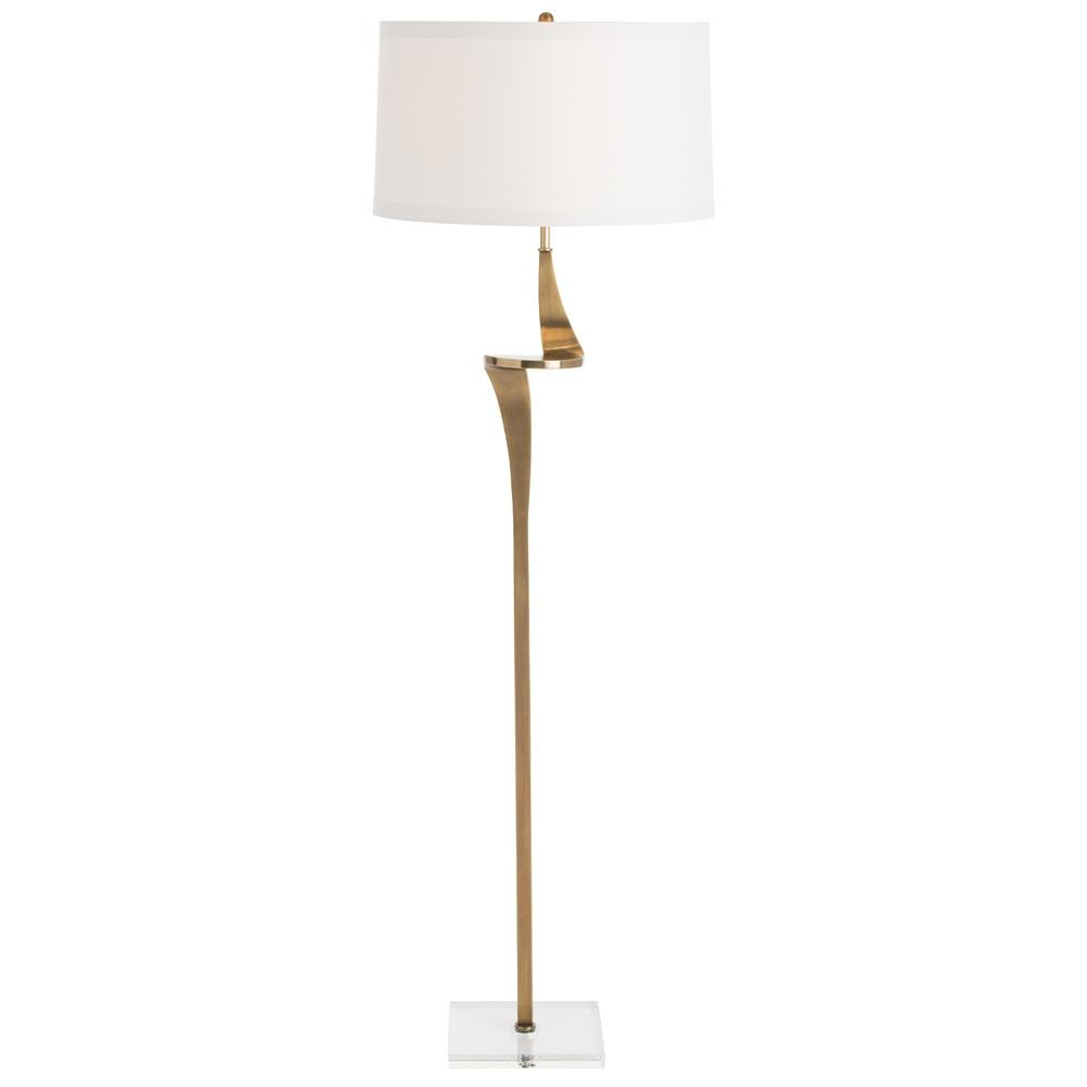 Roosevelt Floor Lamp By Arteriors Home Ah 79986 386 With Images Steel Floor Lamps Contemporary Floor Lamps Floor Lamp