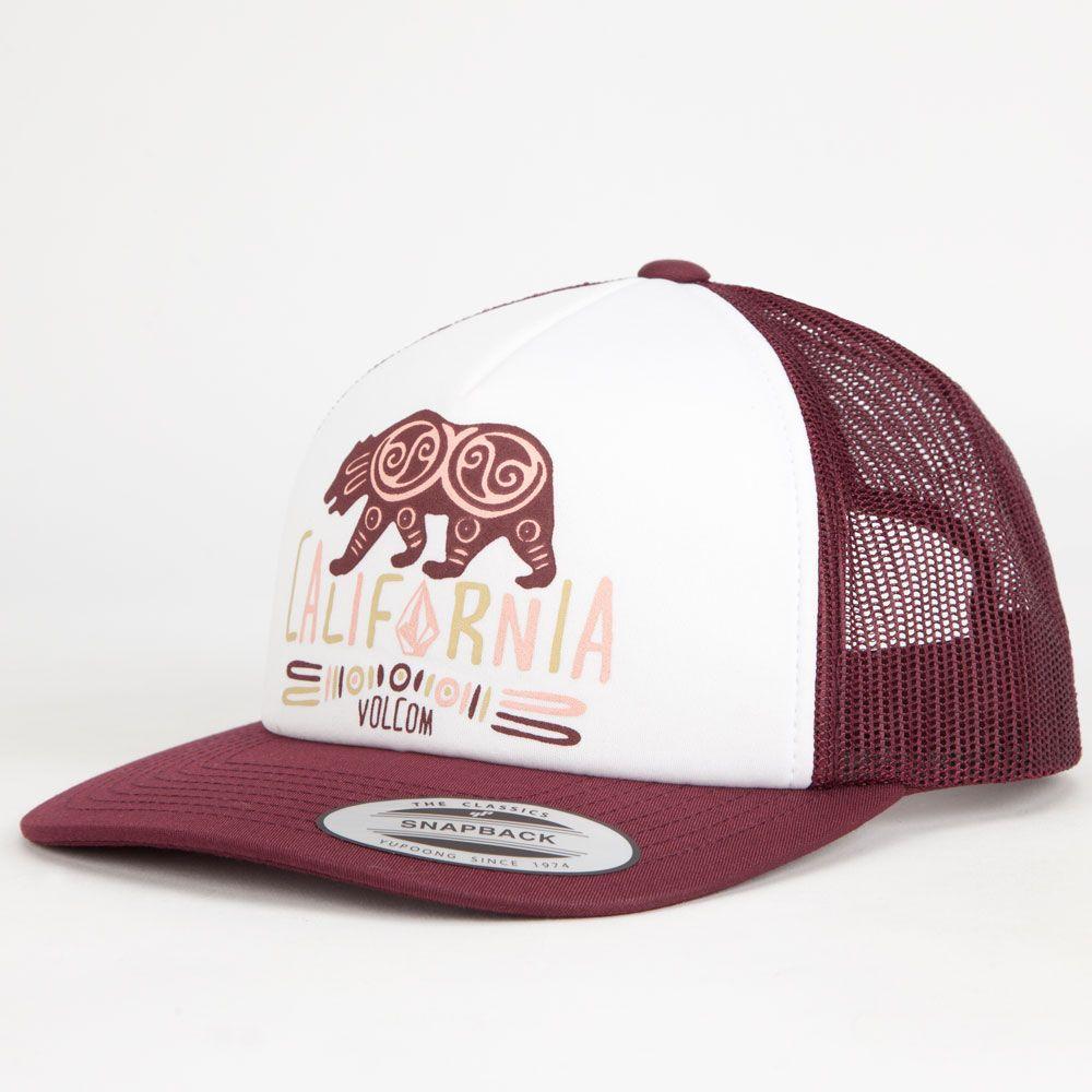 VOLCOM Nacho Womens Trucker Hat  e502f2671b40