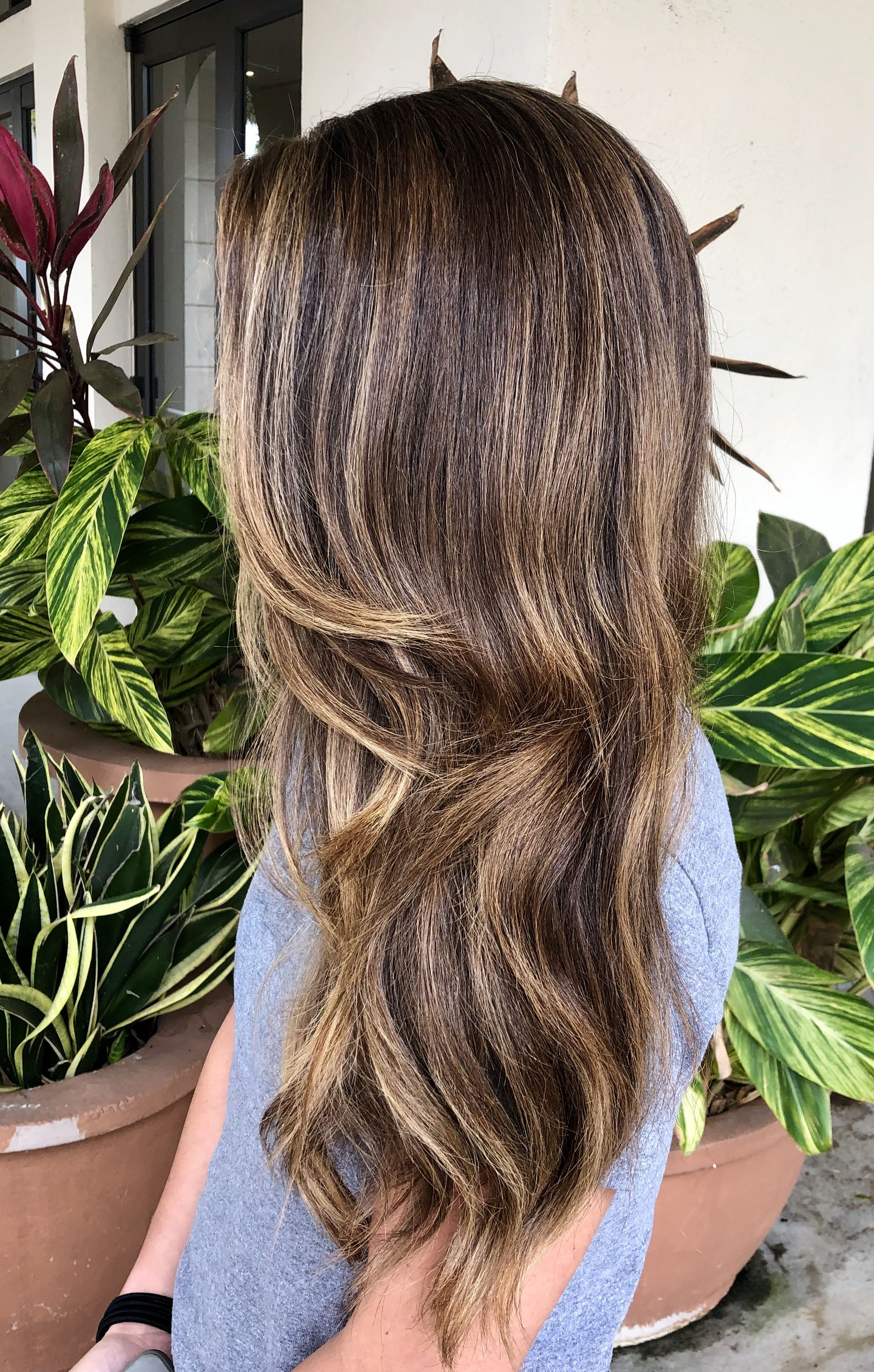 Blonde Balayage Money Piece In Style Hair Orlando Florida Ashleyfehthair Blonde Balayage Hair Styles Long Hair Styles