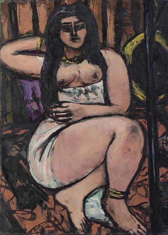 Pin En Max Beckmann Expresionismo