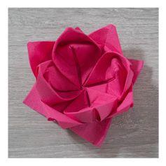 pliage de serviette en fleur de lotus d coration de table vietnam g teaux et desserts. Black Bedroom Furniture Sets. Home Design Ideas