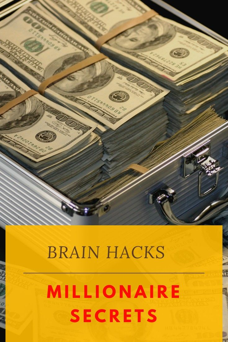 overnight millionaire brainhacks millionaire billionaire Success mindhacks secrets