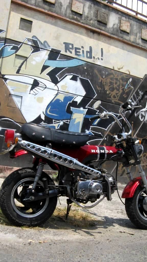 honda daxst replika minibike minihonda monkey gorilla. Black Bedroom Furniture Sets. Home Design Ideas