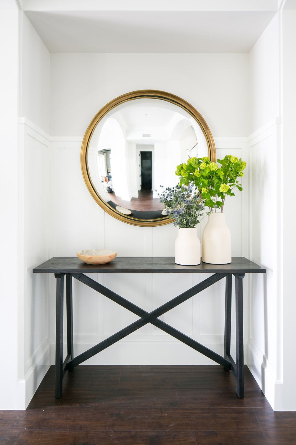 Inspired Interiors Patterns Prosecco Entryway Console Table Console Table Decorating Entryway Console