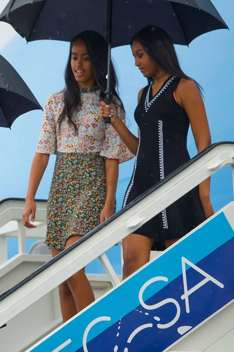 Click to see which actress just wore a version of Malia Obama's floral ASOS dress (and shop both -- they're each $48!)