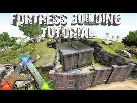ark survival evolved building tutorial for the ultimate fortress