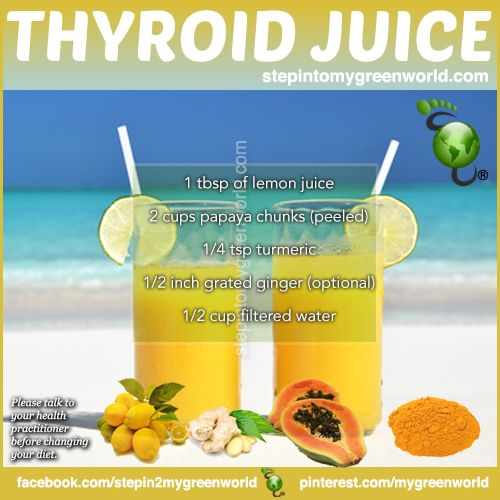Foods proven to increase thyroid function