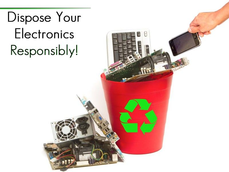 Not Using Your Old Electronics Dispose Responsibly Ewaste Childrens Learning E Waste Recycling