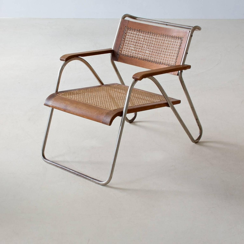 Interior Design Addict Bauhaus Tubular Steel Armchair By