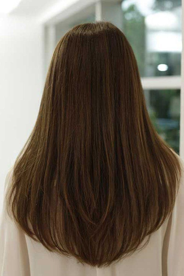 V Mode Im Haar Schneiden Die Stilvollsten 20 V Haarschnitte Haarschnitte Sch Hairstyles Die Haar Haa Haarschnitt V Haarschnitt Haarschnitt Lang