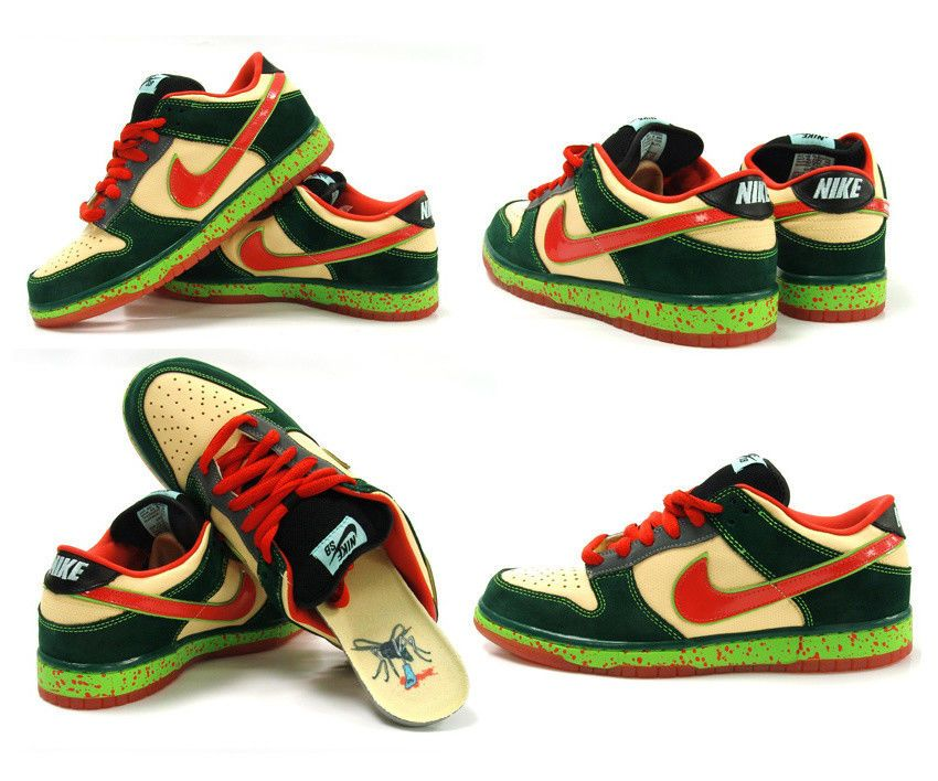 online store 7b0ae 93ba4 eBay Sponsored NEW Nike SB Dunk Low Mosquito green red yellow gum limited  rare dunks 10.5