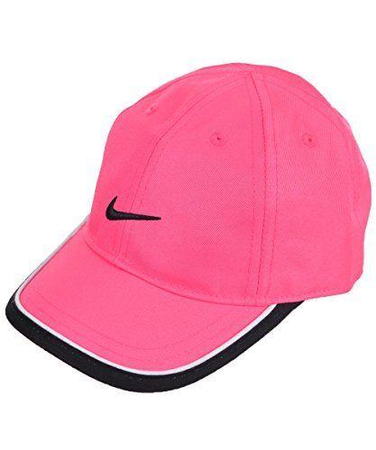 3bdc70357c420 Nike Baby Girls Twill Cap pink powblack 12 24 months -- Click image for more