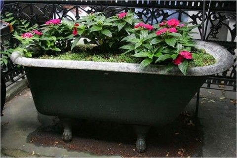 ideas para reciclar tu propia bañera | garden paths, gardens and