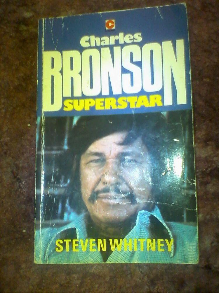 Charles Bronson, Superstar by Steven Whitney (Hardback, 1978 ...