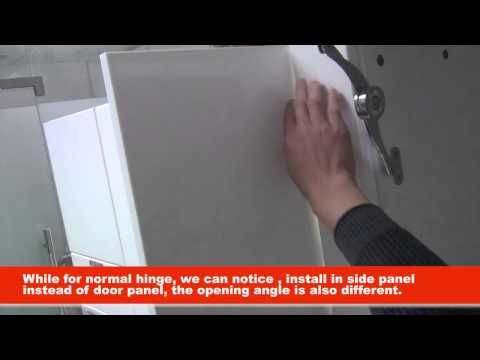 90 Degree Soft Close Cabinet Hinges Videohow To Install Blind Delectable Kitchen Cabinet Soft Close Inspiration