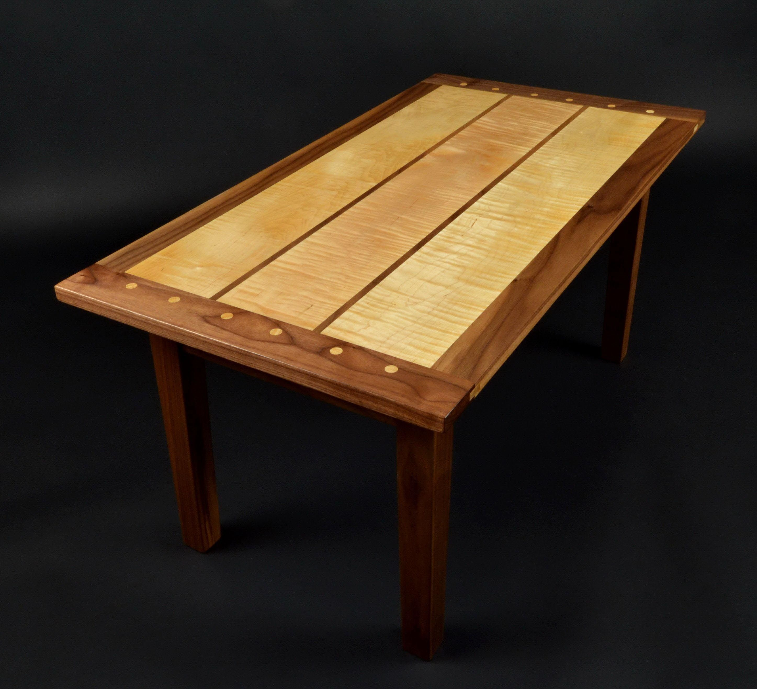 Beau Curly Maple Coffee Table