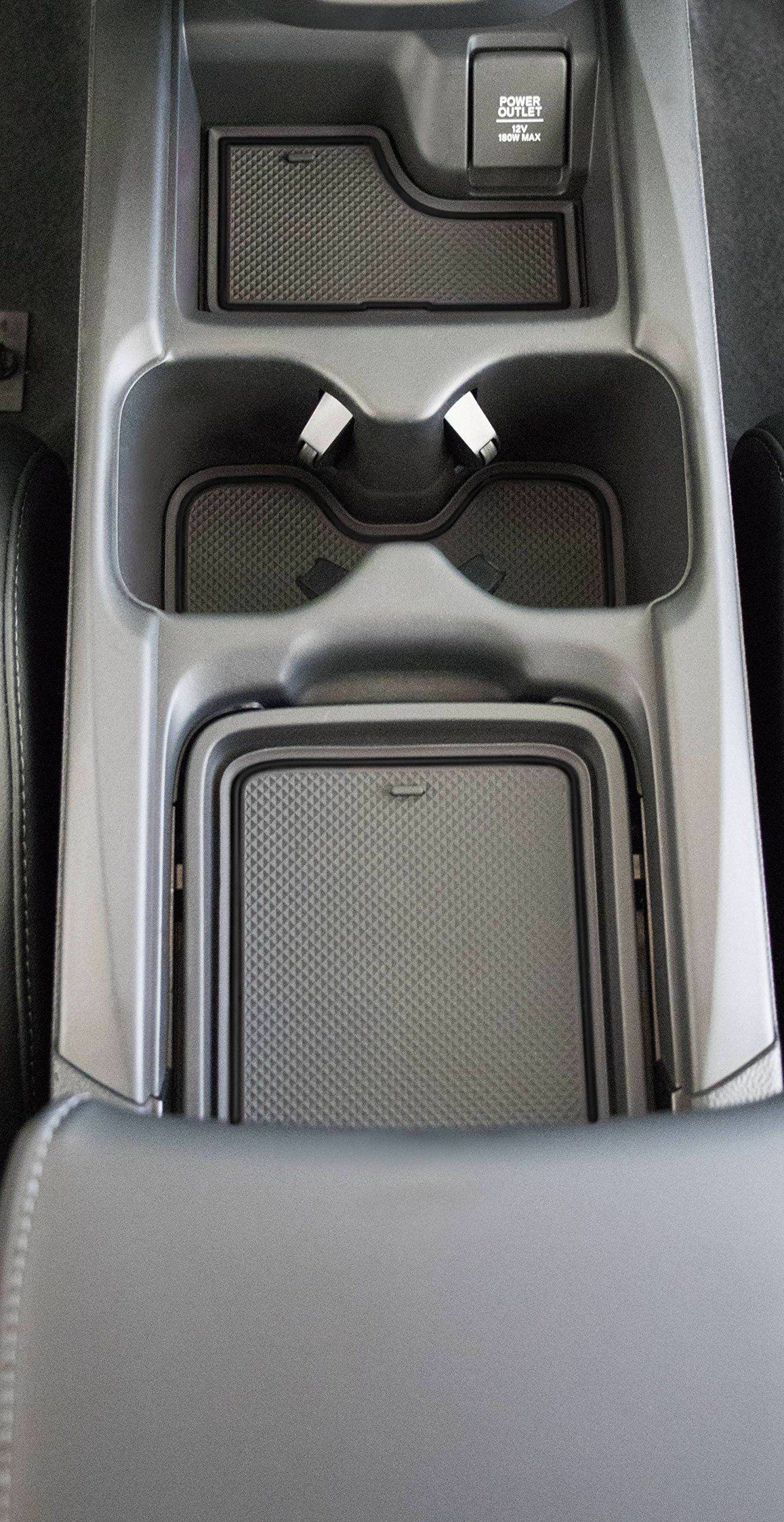 Custom Fit Cup Holder And Door Liner Accessories 2017 2018 Honda Crv 19pc Set Solid Black Click On The Image For Addit In 2020 Honda Crv Accessories Honda Honda Cr