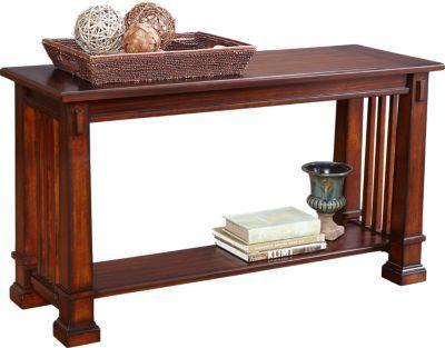Enjoyable Clairfield Tobacco Sofa Table Living Room Sofa Tables Bralicious Painted Fabric Chair Ideas Braliciousco