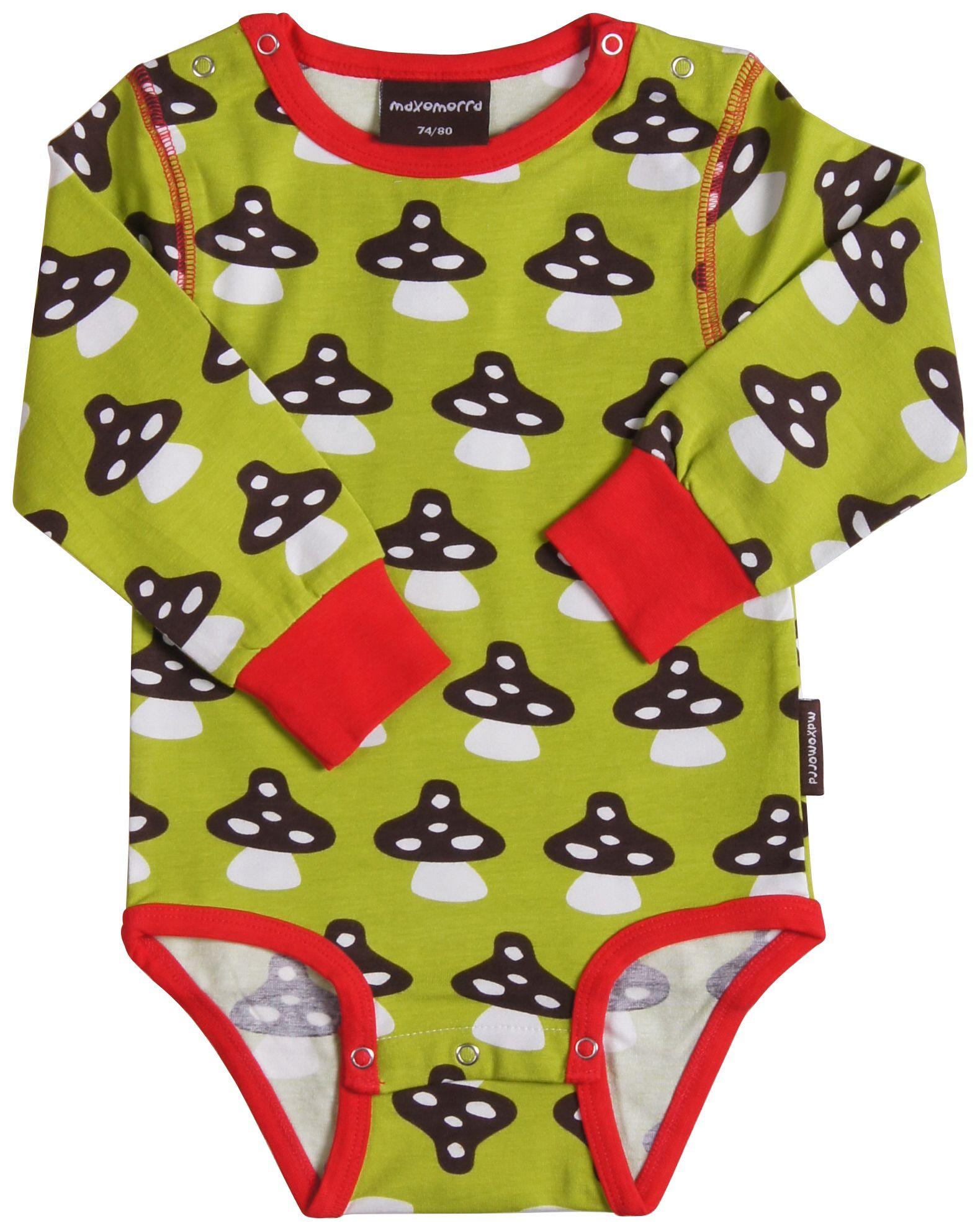 Maxomorra Red Unisex Baby Organic Cotton Regular Shorts