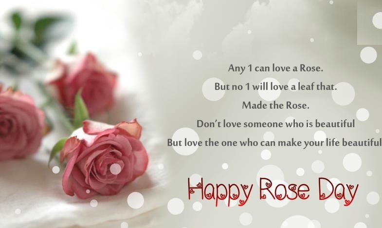 Romantic Rose Day Wishes In Hindi Rose Day Quotes Pinterest