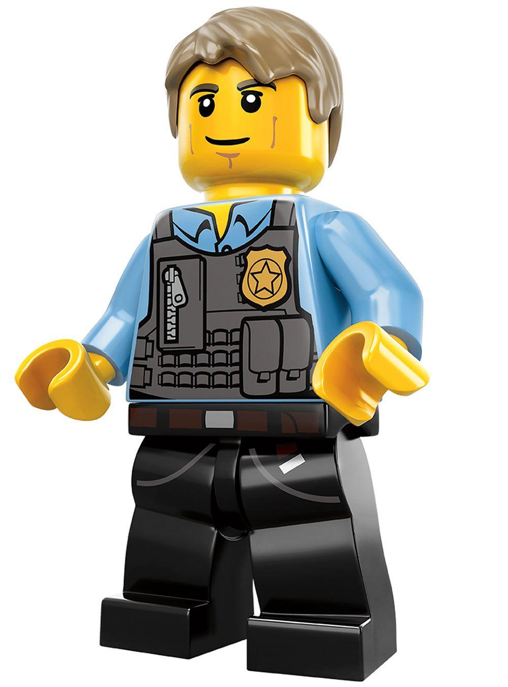Chase Mccain From Lego City Undercover Fiesta De Cumpleanos Lego Legos Creaciones De Lego