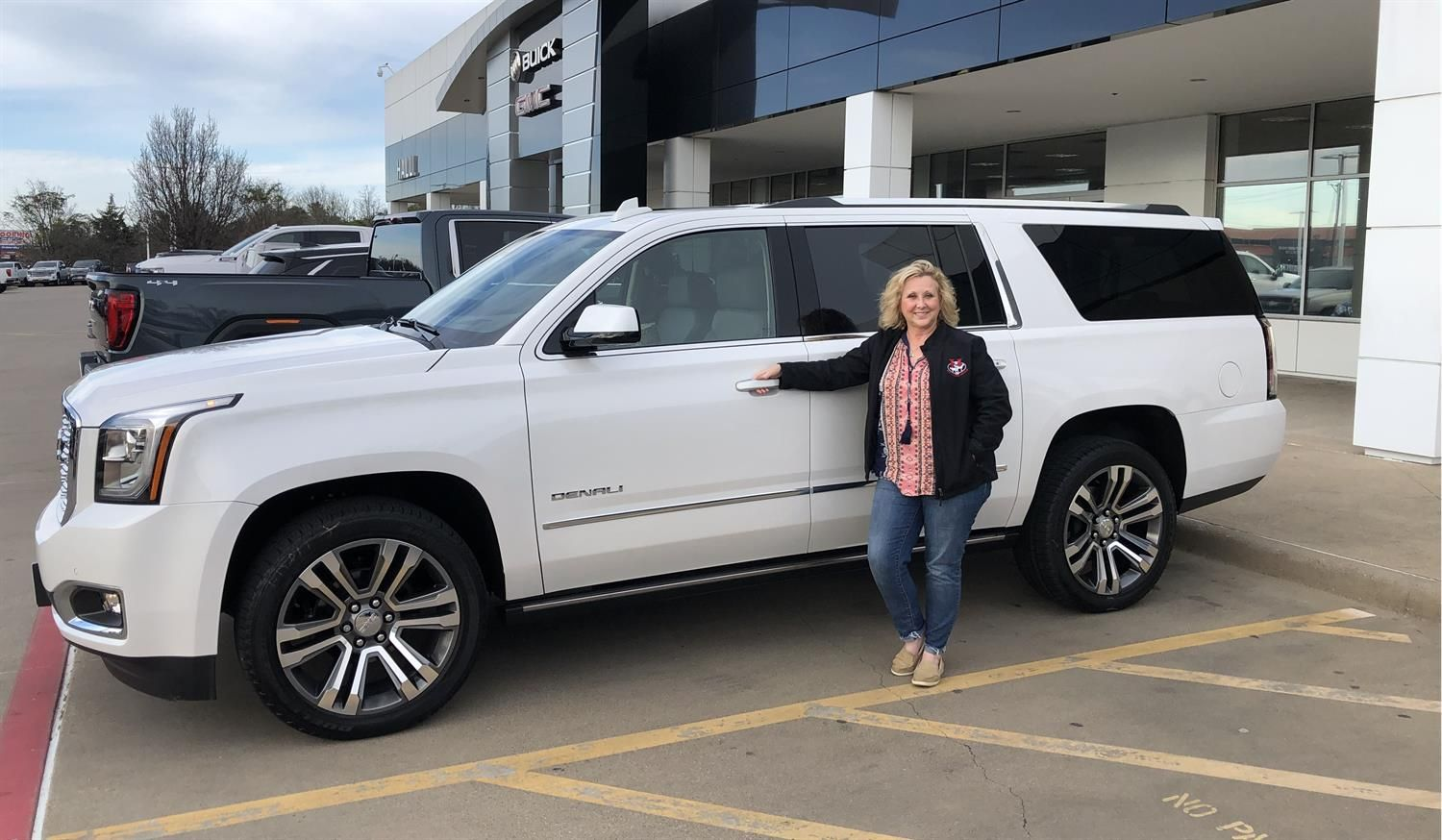 Melissa We Hope You Enjoy Your New 2020 Gmc Yukon Xl Congratulations And Best Wishes From Hall Buick Gmc And Luis In 2020 Gmc Yukon Xl Buick Gmc Gmc Yukon
