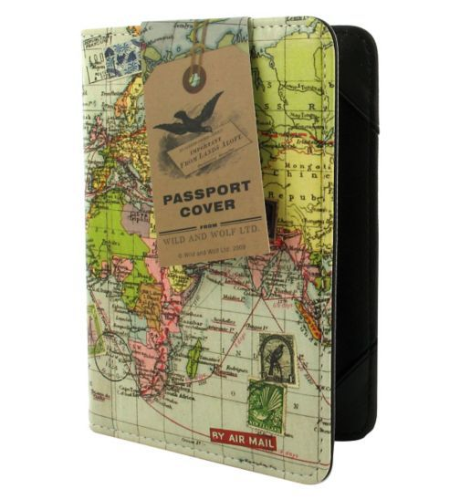 Wild and Wolf Travel Passport Cover - Boots