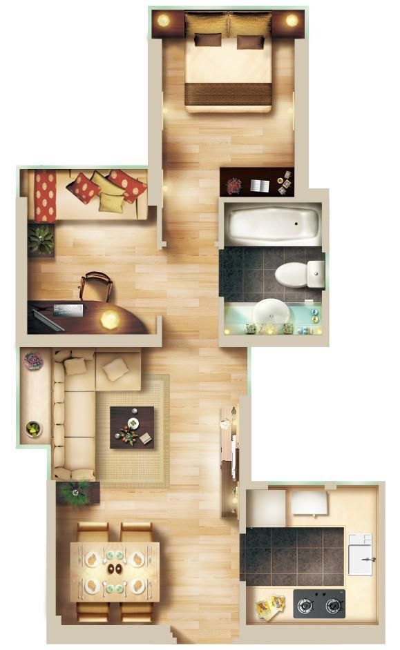 15 Types Of Interior Design Layouts Photoshop Psd Template V 3